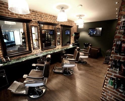 Silke Heide Barbershop, drei Sitzplätze