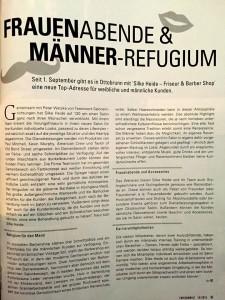 FRISEUR WELT - Artikel über Silke Heide - Friseur & Barber Shop