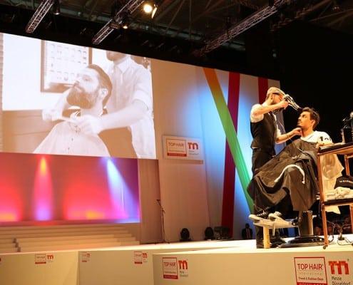 Galerie-Barbering - Barbering auf der Top Hair