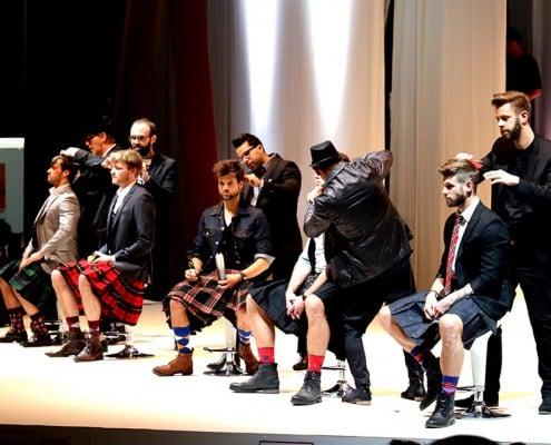 Haarschnitt Männer mit Kilt